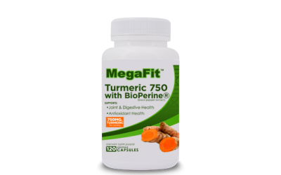 TURMERIC 750mg WITH BIOPERINE