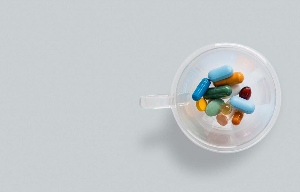Vitamin B tablets